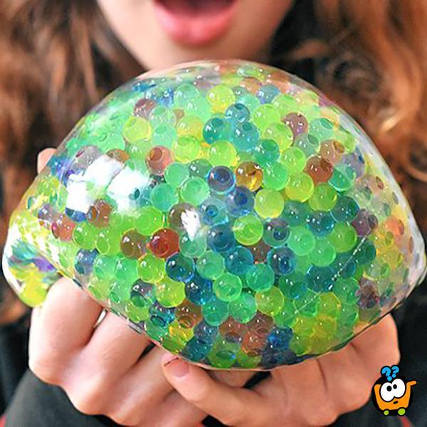 Wubble Fulla Marbles BIG - Magična gumena lopta sa klikerima