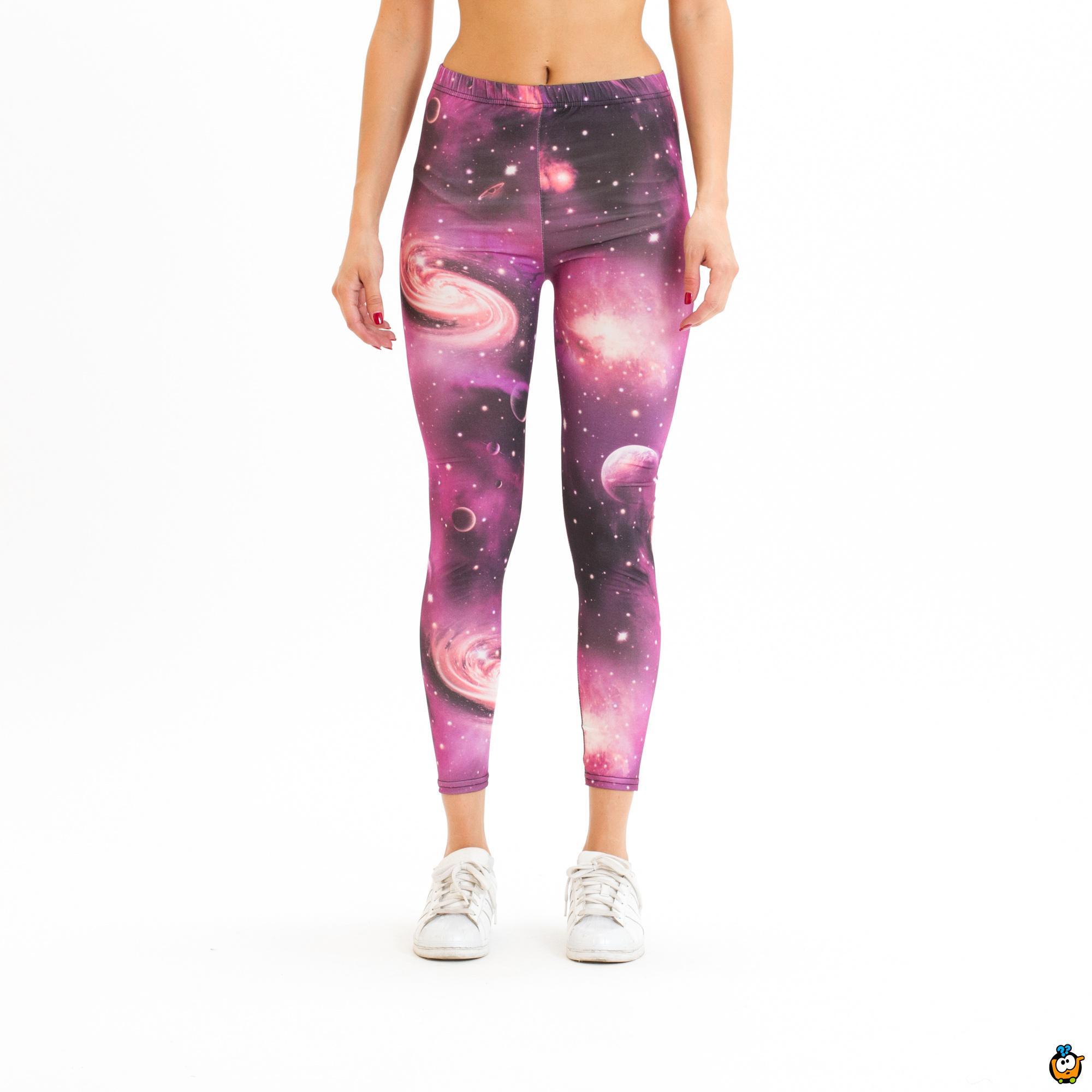 Ženske helanke - Space Pink