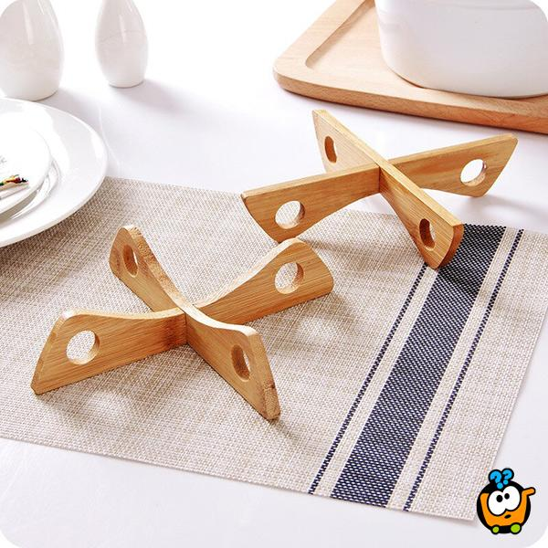 Bambo table mat - Podmetač za šerpe od bambusovog drveta