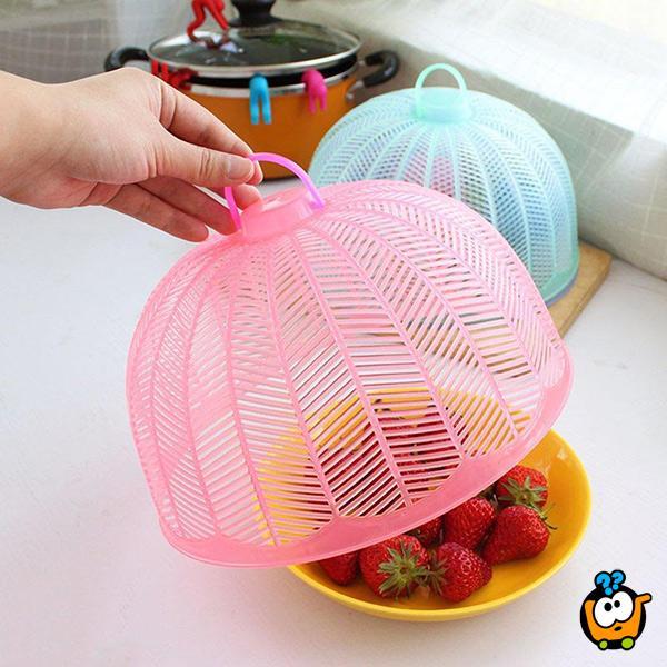 Mesh food cover - Plastični zaštitni poklopac za hranu