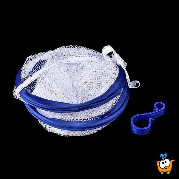 Laundry basket - 2 u 1 držac i mreža za sušenje veša