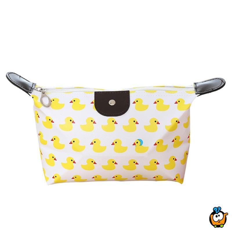 Cosmetic bag - Prenosiva kozmetička torbica razigranih boja