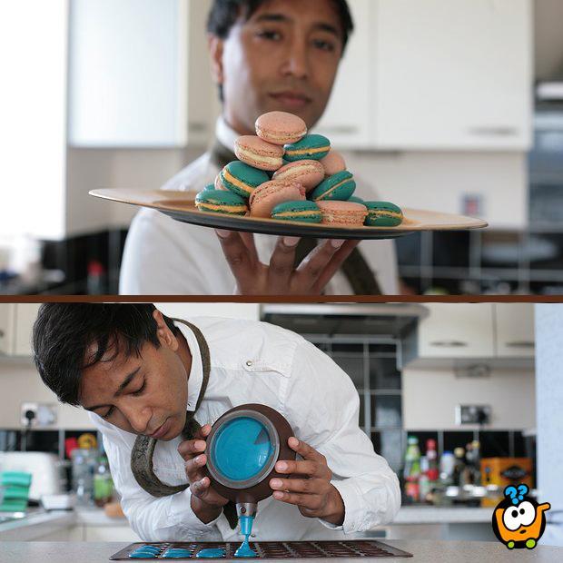Silikonski set za pravljenje Macarons kolačića