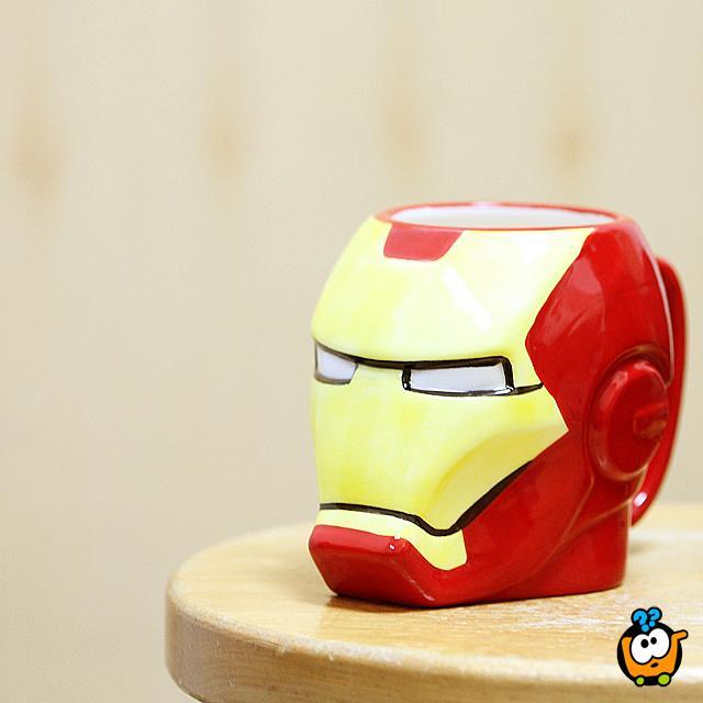 Iron Man 3D keramička šolja