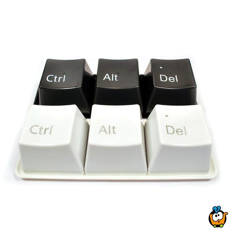 Keyboard Ctrl+Alt+Delete kreativne činije