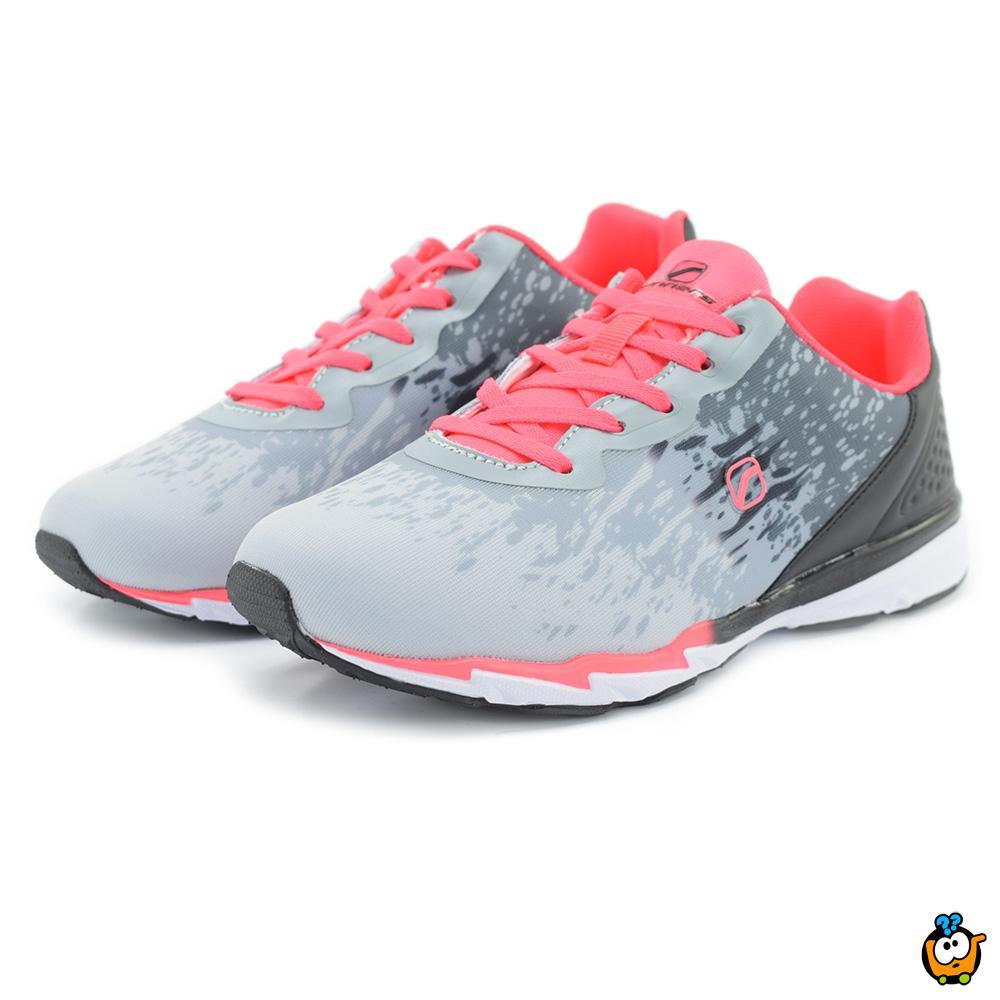 Ženske patike Runners LT.GREY/FUXIA 789