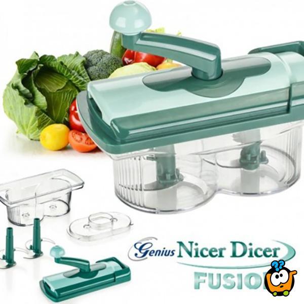 Nicer Dicer Fusion Twist - Moćni procesor hrane