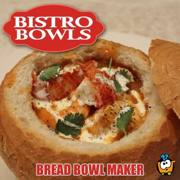 Bistro Bowls - Pekač savršenih i punjenih vekni hleba