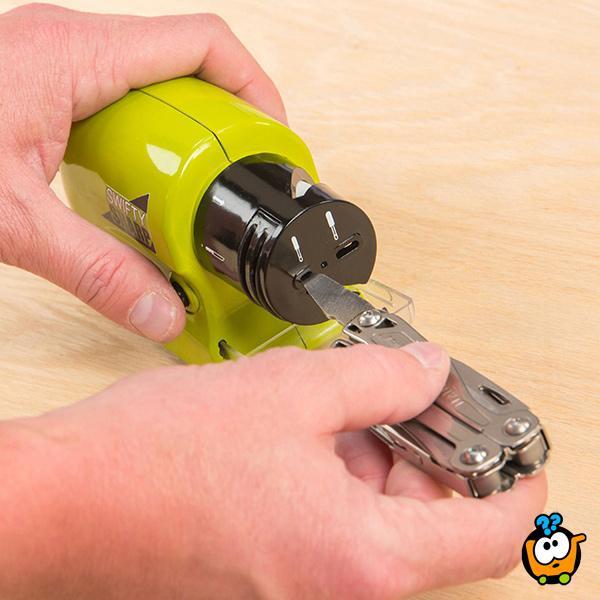 Swifty Sharp - Motorizovani oštrač noževa, makaza i alata