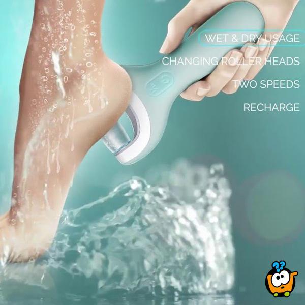 Pedi Wet & Dry - Profesionalna punjiva rotirajuća turpija za tretman stopala