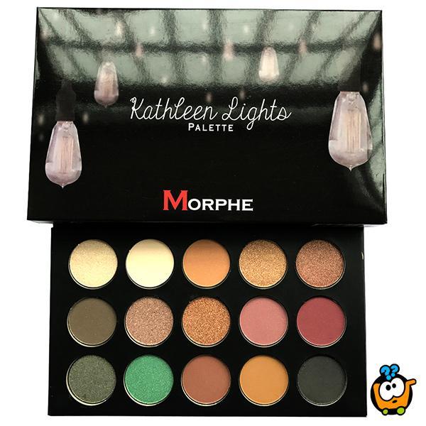 MORPHE - Profesionalna paleta od 15 nijansi senki