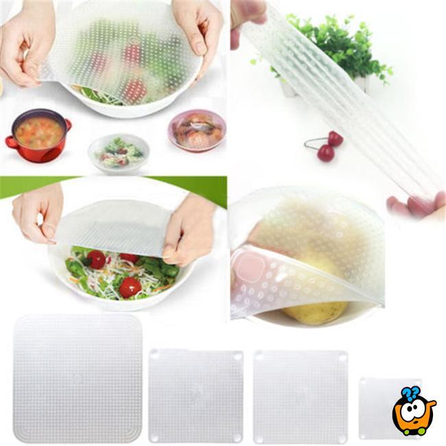 Stretch & Fresh - Magične folije za očuvanje svežine hrane