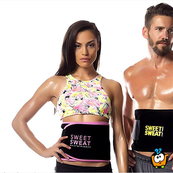 Sweet Sweat Waist Trimmer - Pojas za mršavljenje sa sauna efektom