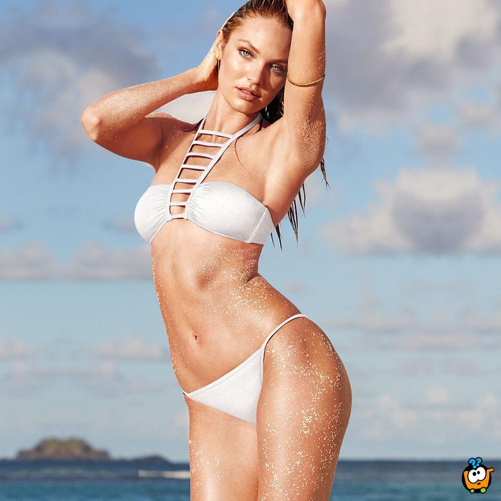 Dvodelni ženski kupaći kostim - HIGH NECK WHITE