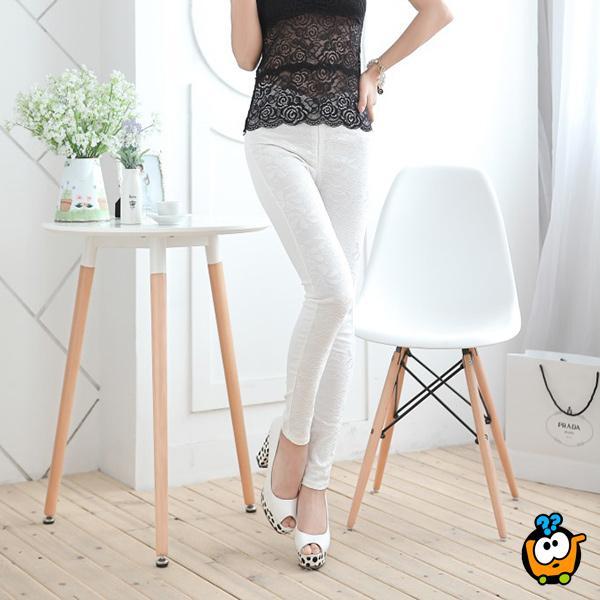 Udobne i atraktivne Trendy 50/50 WHITE pantalone