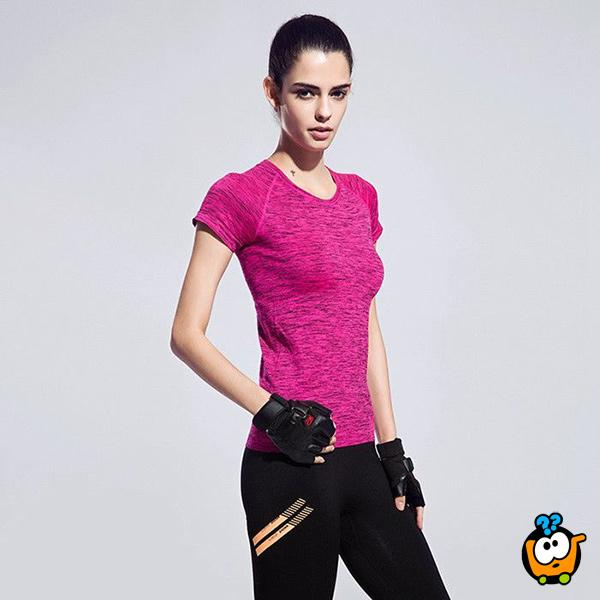 Udobna i praktična ženska majica - Casual-Sport PINK