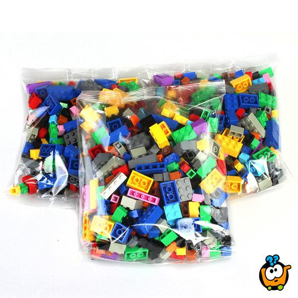 Kocke za decu - MEGA Set od 1000 delova