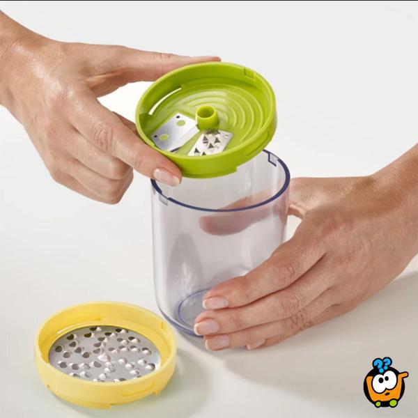 Spiro 3 u 1 ručni secko + rende