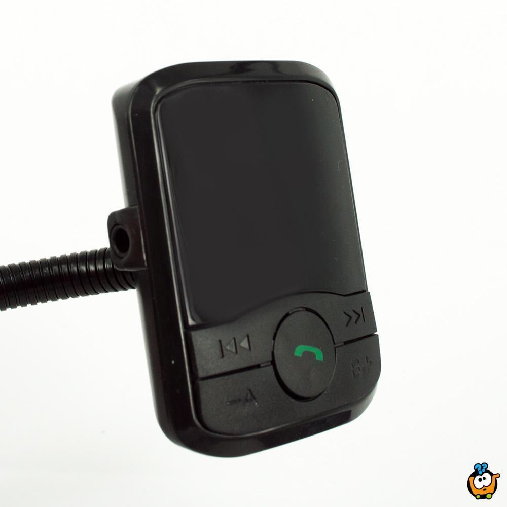 10 u 1 Bluetooth auto MP3 Transmiter - Slušajte muziku, razgovarajte, dopunite telefon u svom automobilu