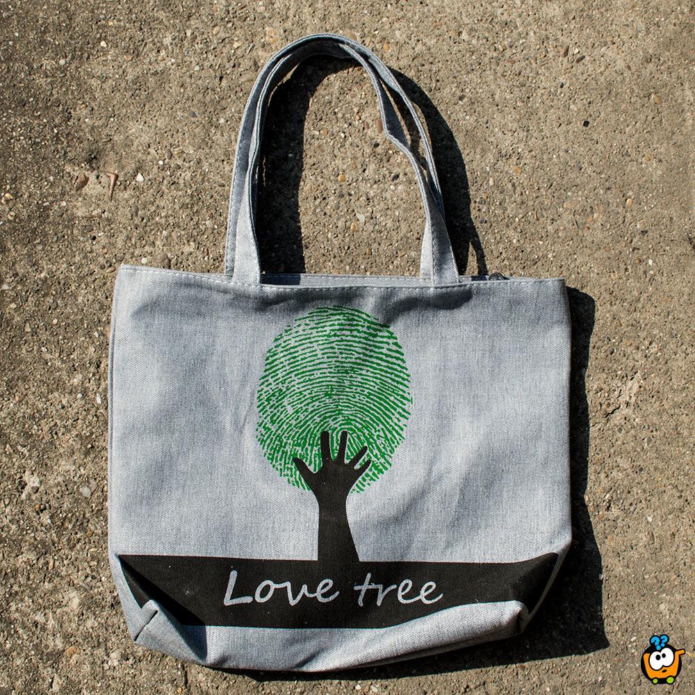 Ceger torba Retro - GREEN LOVE TREE
