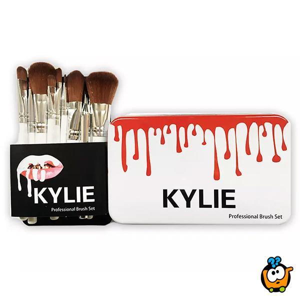 KYLIE Profesionalan set od 12 cetkica za šminkanje