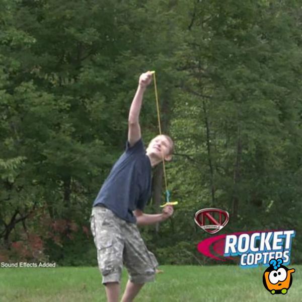 Rocket Copters - LED helikopter-rakete za svemirsko nebo