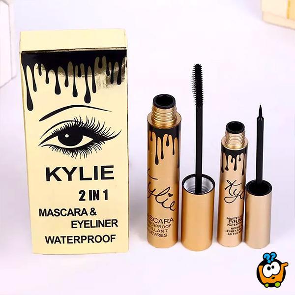Kylie Jenner 2 u 1 Vodootporna maskara i ajlajner