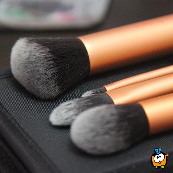 Real Techniques Core Collection - Praktican set od 4 cetkice za šminkanje