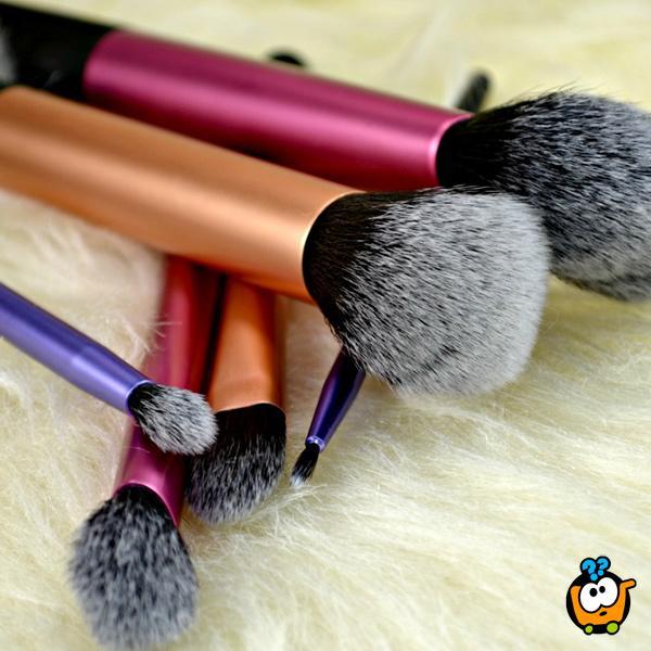 Real Techniques by Samantha Chapman - Ekskluzivan set od 6 četkica za šminkanje