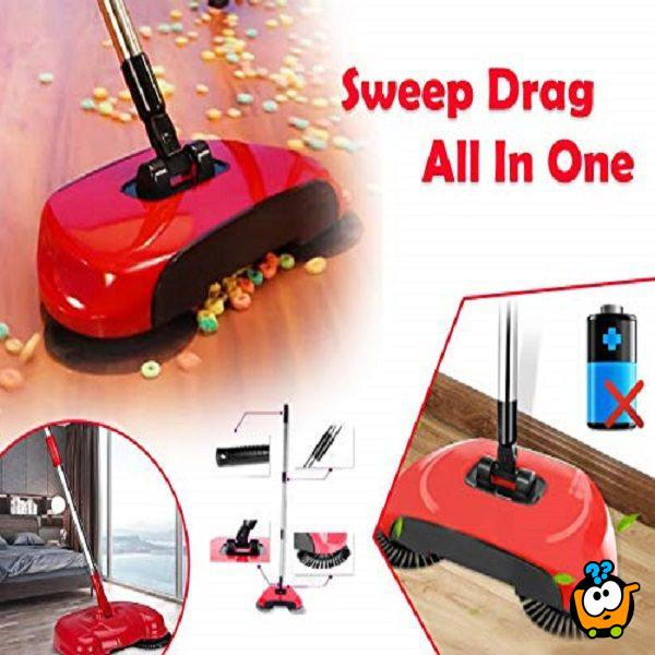 SWEEP DRAG All-In-One - Bežični usisivač za čiste podove