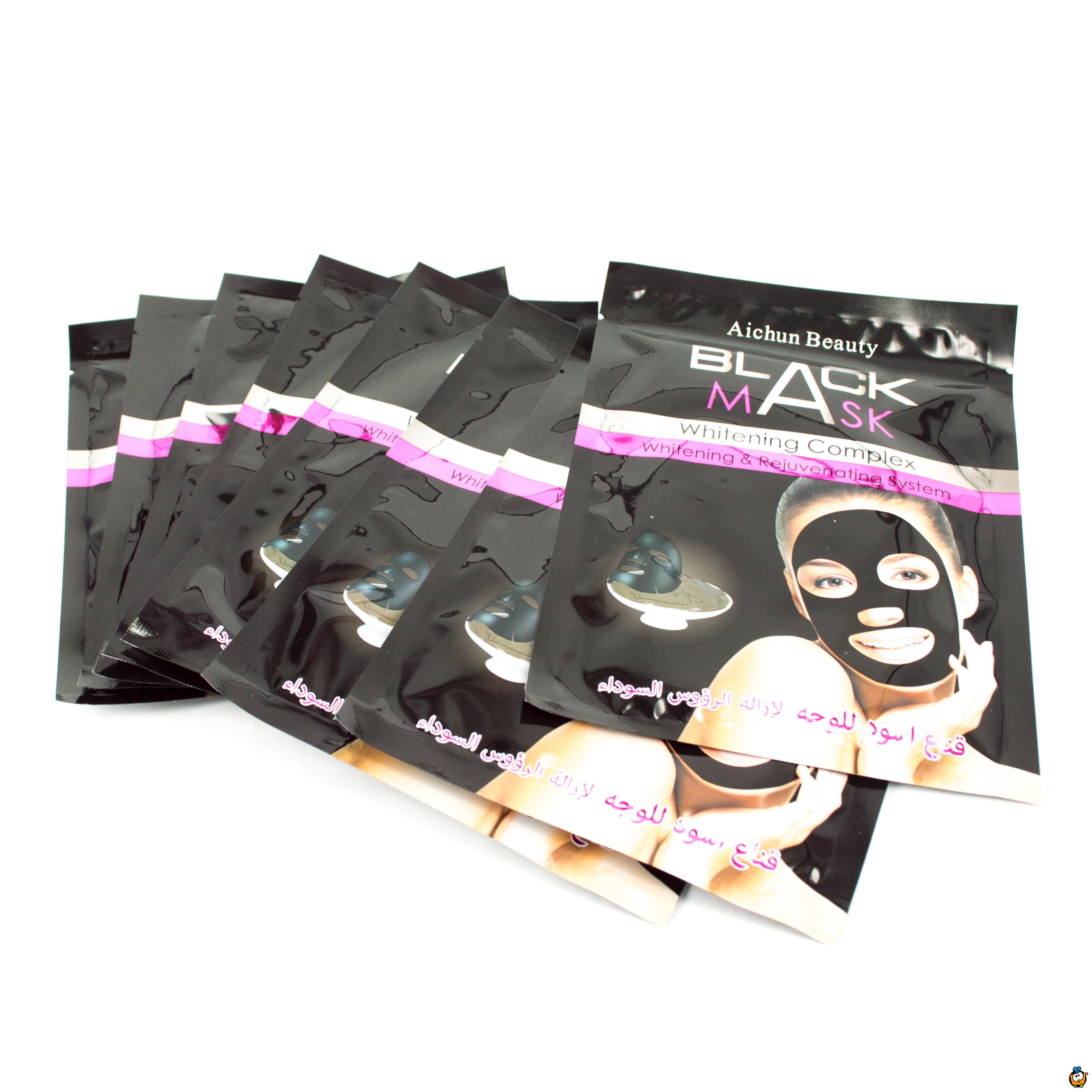 Black Mask set od 8 maski za čišcenje lica - 320g