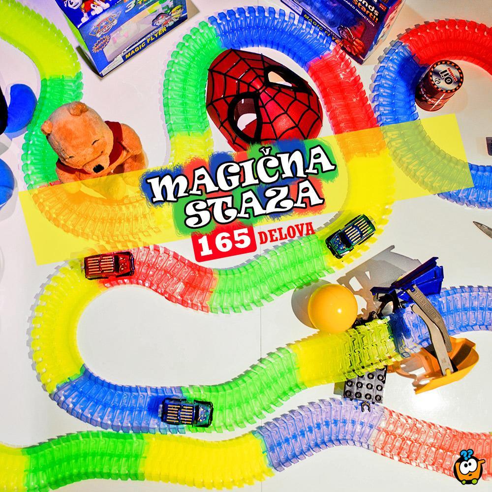 Trkački set MAGIČNA STAZA - 165 delova
