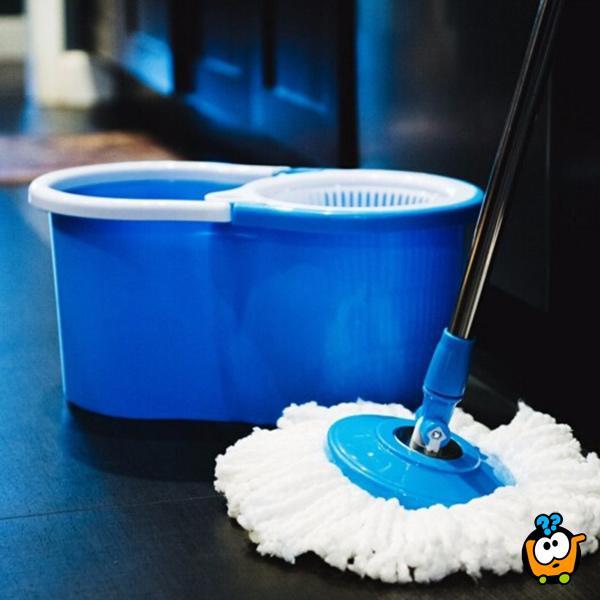 Spin Mop sa kofom za brisanje i ceđenje