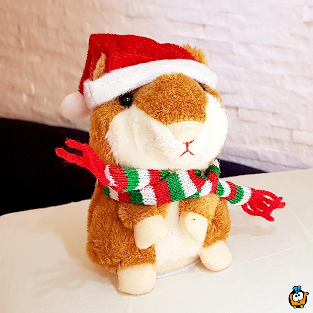 Christmas Talking Hamster - Praznični hrčak koji govori