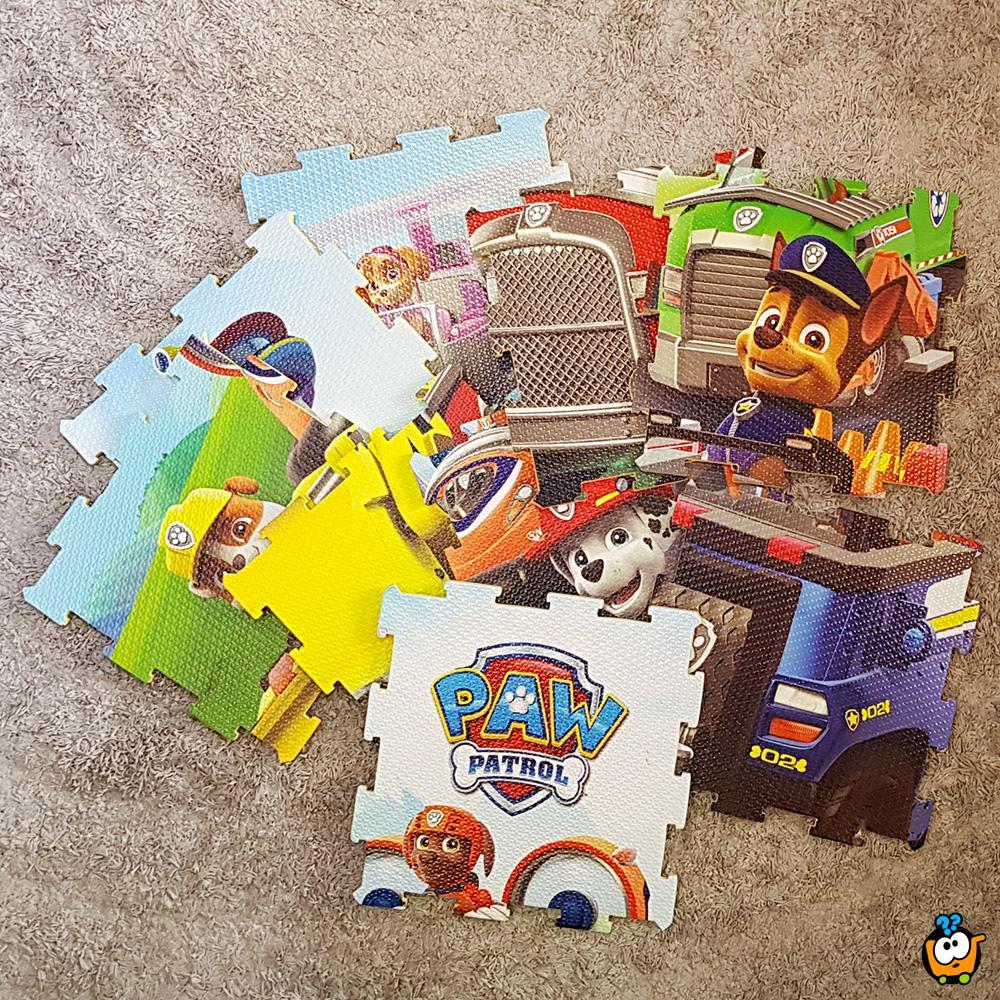 Patrolne šape - Dečije podne slagalice za igru u color štampi