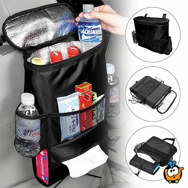 Bag for car seat - Multifunkcionalni organizer za auto sa termoizolacijom