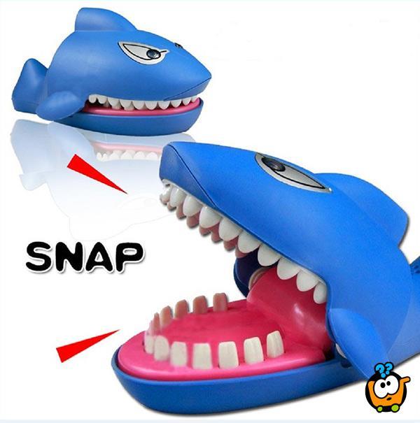 Igra za decu Shark Dentist  - Koji zub boli malu ajkulicu