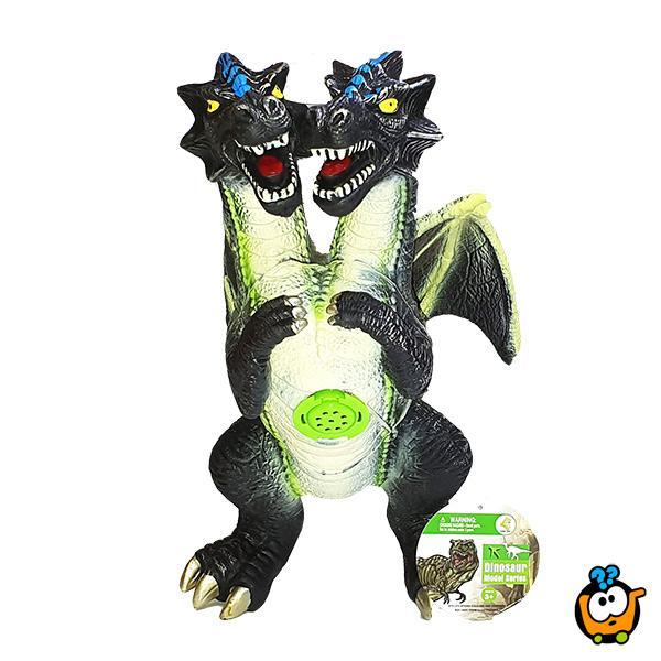 Dvoglavi Zmaj igračka sa zvukom - BIG SIZE