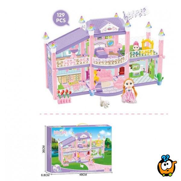 Dream House - Romantična kućica za lutku