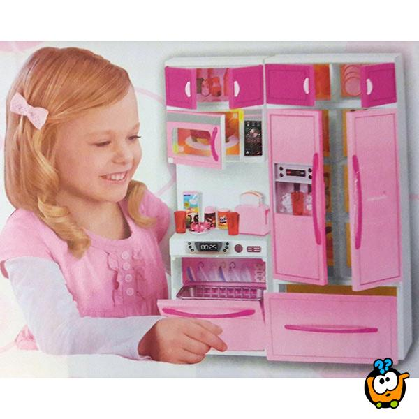 Kitchen playset - Moderan kuhinjski set sa lutkom