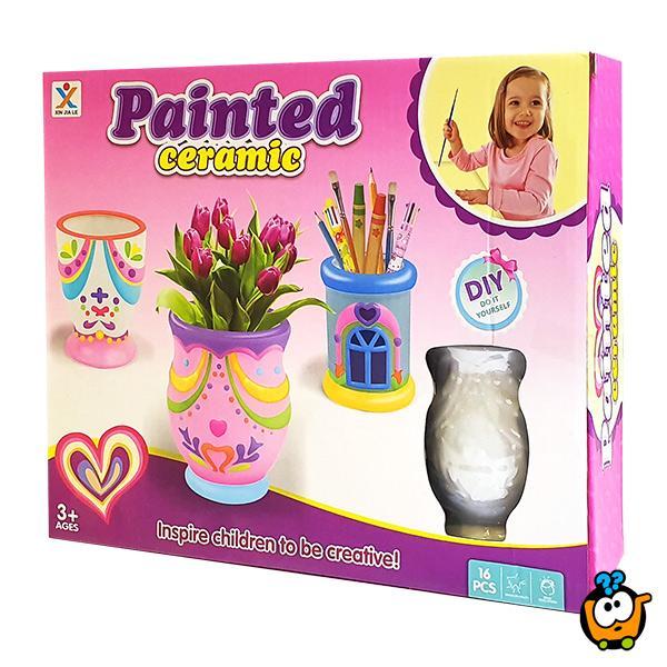 Painted ceramic - Oboj svoju vazu