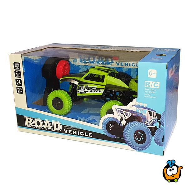 Monster RC Car - Auto na daljinski sa 6 točkova