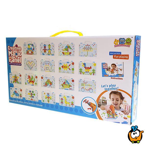 Kreativni Magic mozaik - Set alata za decu od 150 delova