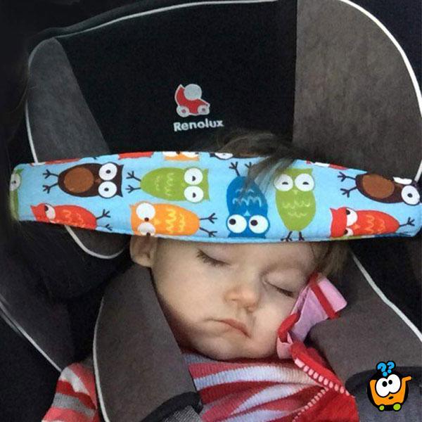 Traka za glavu za dečije auto sedište