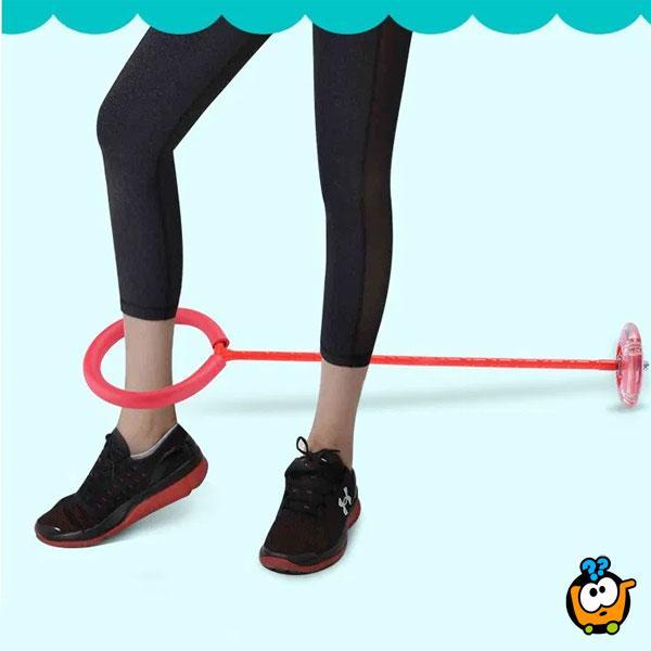 Jumping ball - Svetleća fitnes igračka za decu