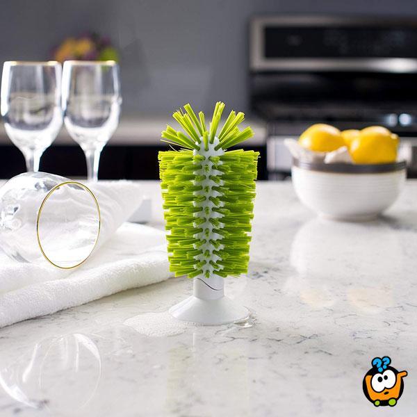 Praktična četka za pranje čaša i šolja