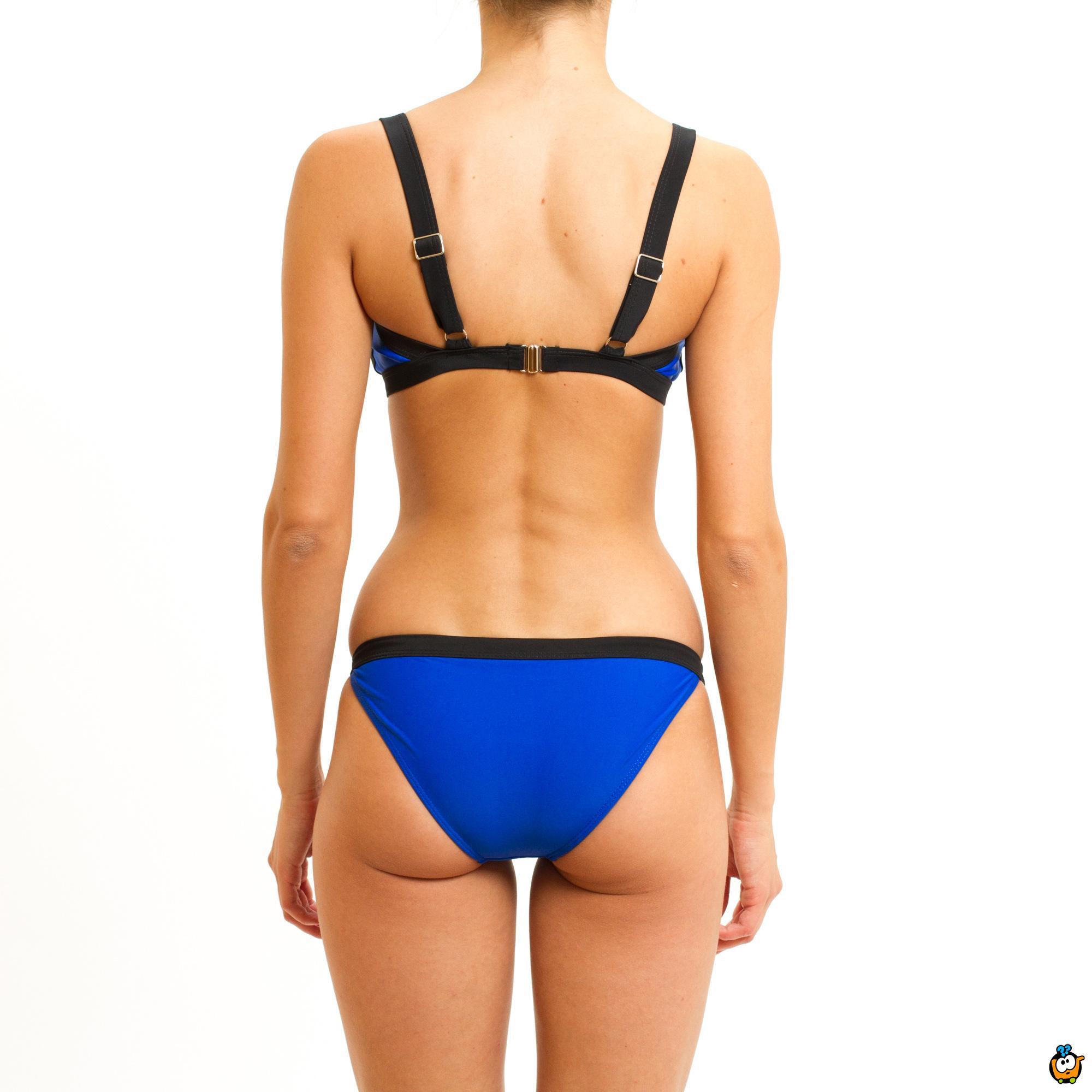 Dvodelni ženski kupaći kostim - MODERN MIX KING BLUE
