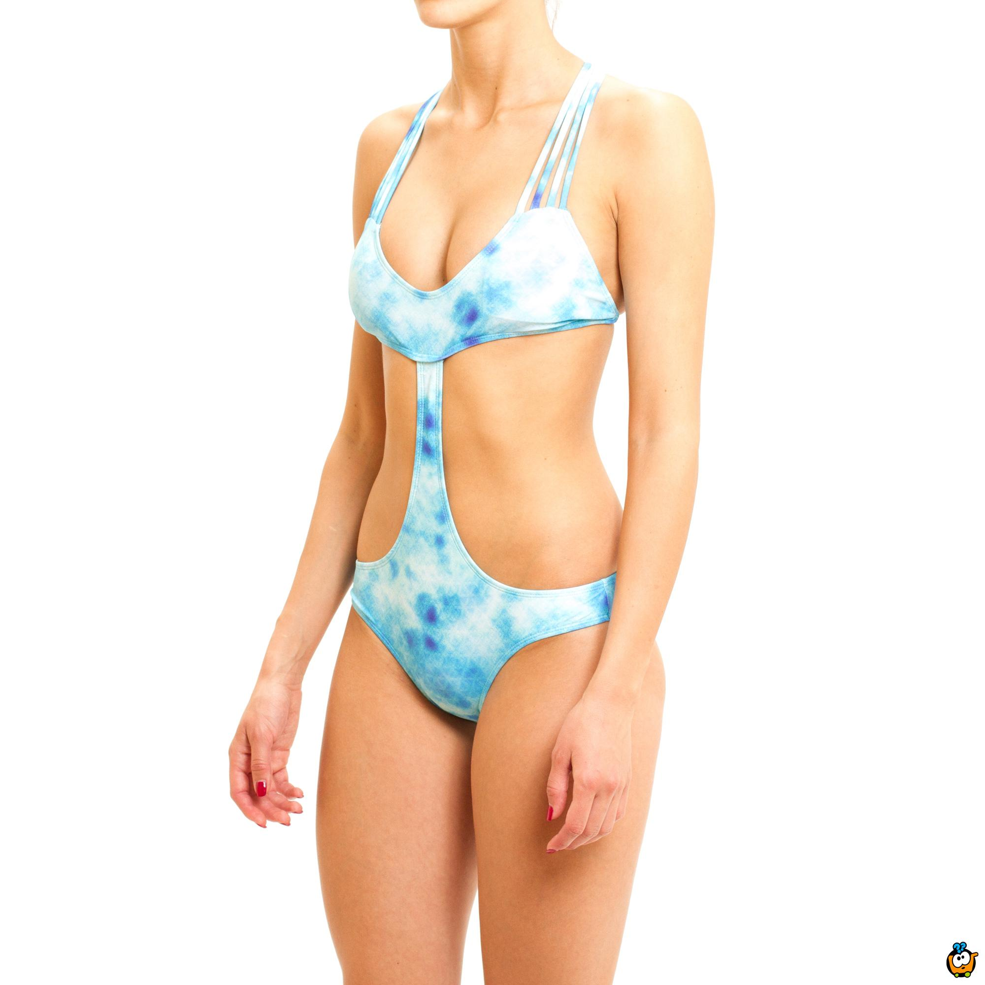 Jednodelni ženski kupaći kostim - BIKINI WAVES