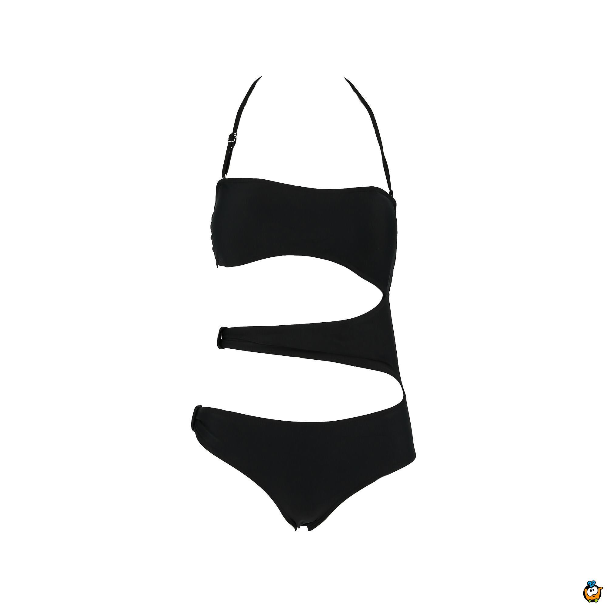 Jednodelni ženski kupaći kostim- RIBBED HOT