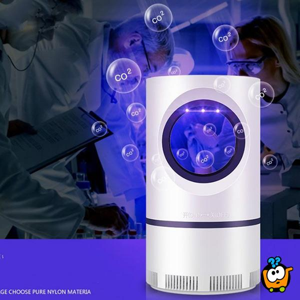 USB LED Killer mosquito - Lampa protiv komaraca sa ventilatorom